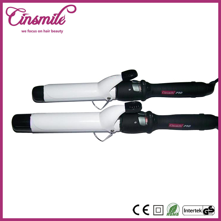 Different Size Digital Tourmaline Ceramic Curling Irons For Short or Long Hair