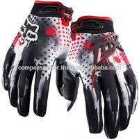 Motorcycle Mountain Bike Cycling racing 360 RIOT cycling Gloves White&Red M/L/XL