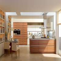 PVC Coated Kitchen Cabinets