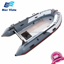 Cheap Pvc Rigid Inflatable Boat Aluminium Floor Inflatable Boat For Sale