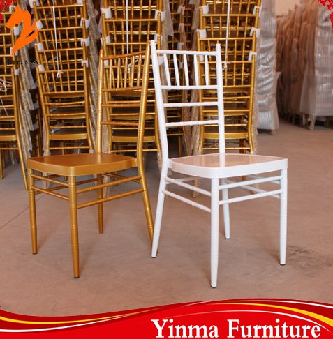 High quality metal tiffany chair for wedding