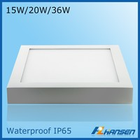 CCC ceiling fan light high power ceiling light camera 20w waterproof IP44 IP65 LED ceiling panel light