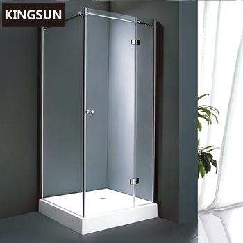 80*80 Square Shower Cabin, Corner Shower Stalls, Glass Shower Enclosures