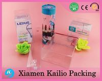 Clear PVC Packaging Box, Transparent Plastic Packaging Box For Phone Case