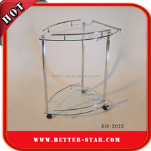 Stainless steel Mini bar trolley