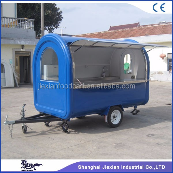 JX-FR280B Jiexian CE qualified outdoor mini truck food for sale