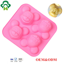 Specialized mold design non-stick silicone pancake baking cup cake form tool silicone moulds for soap moulds for handmade