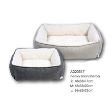 Hot Sale Plush Fleece Dog Bed Cute Pet Bed