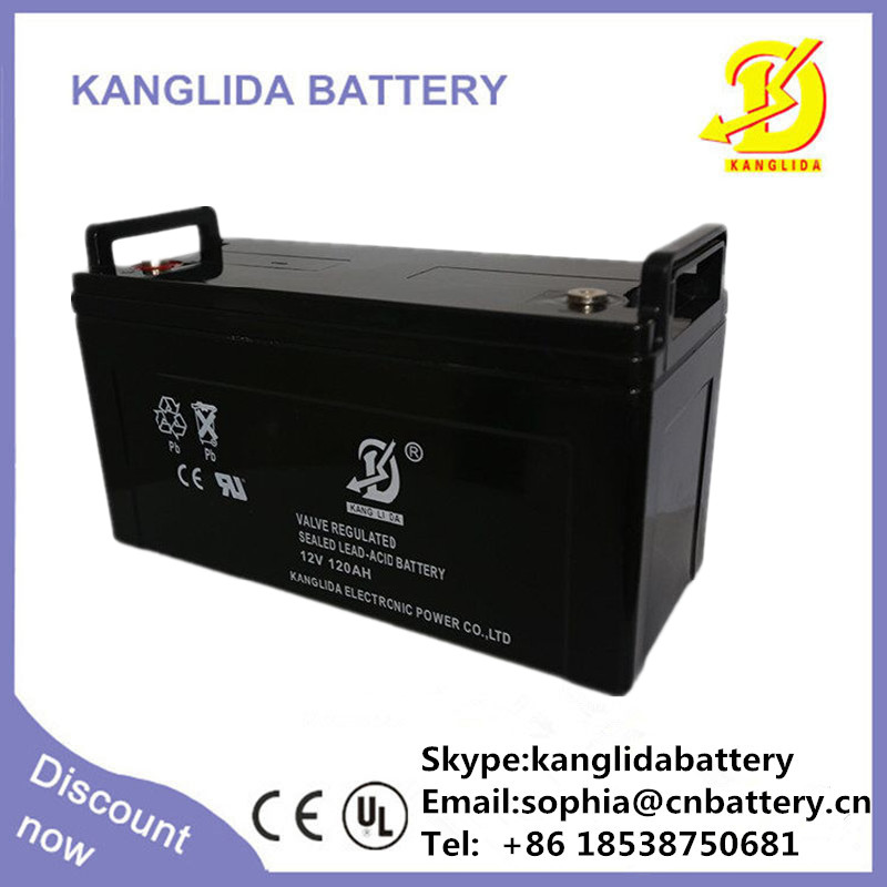 12V 120Ah Lead Acid SLA VRLA Gel Solar , battery power bank