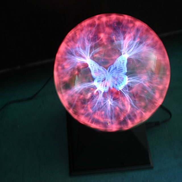 produce - 4inch/5inch plasma ball night light,Dragonfly or Butterfly lightning ball