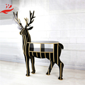 New Art Deer Bookshelf room decoration Wood Deer Furniture