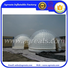 transparent tent, inflatable clear tent, display tent S1049
