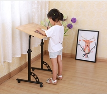 height adjustable travel folding table