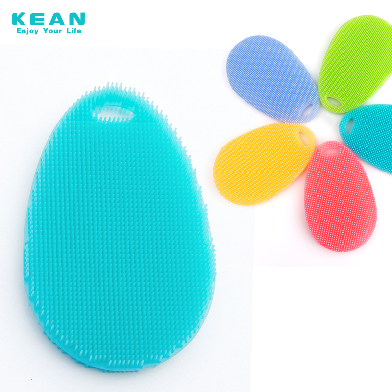 China manufacturer multifunctiona wash face brush/silicone makeup brush