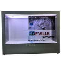 touch screen indoor lcd display panel price,transparent lcd display