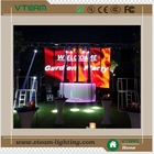 alibaba express transparent full color led video curtain display