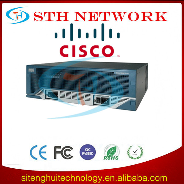 Original Cisco 3800 WAN Optimization Bundles CISCO3845-WAE/K9