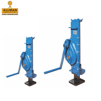 China Top quality supplier ALLMAN 5Ton 10ton 16ton Rack and Pinion type Mechanical Lifting Jack