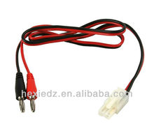 4mm Banana Plug To Tamiya Connector Battery Charge Cable