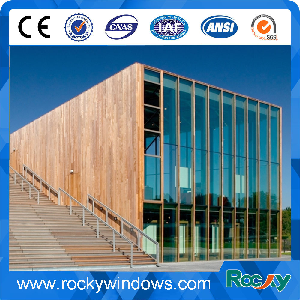 Residential glass design curtain wall