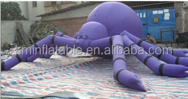 Purple giant Inflatable spider Inflatable animals