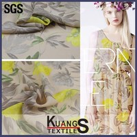 digital printing silk chiffon fabric prices, gradient color chiffon fabric