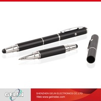 Capacitive smooth stylus touch ad ball pen