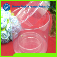 disposable plastic cup pet pet plastic transparent tube pet plastic tubes for candy