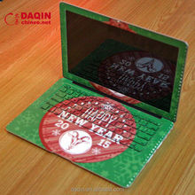 Daqin machine for making custom laptop skin / laptop lcd back cover for hp