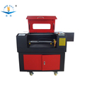 Hot sale!Jinan NC-4060 mini CO2 laser cutting machinefor acrylic,MDF,crystal,glass engrave with CE,ISO9001,FDA
