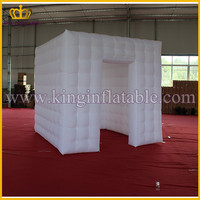 Good Quality LED Remote Control lighting Inflatable Photo Booth For Sale