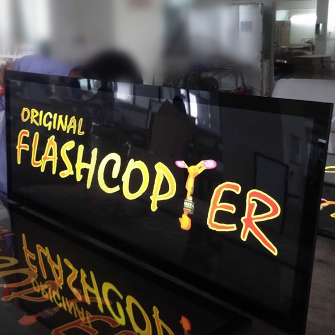 Top quality OEM portable custom rechargeable waterproof led open sign