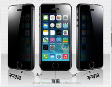 Double functions! new type anti-glare anti-spy screen protector for iphone 6plus factory direct supply OEM weldome!