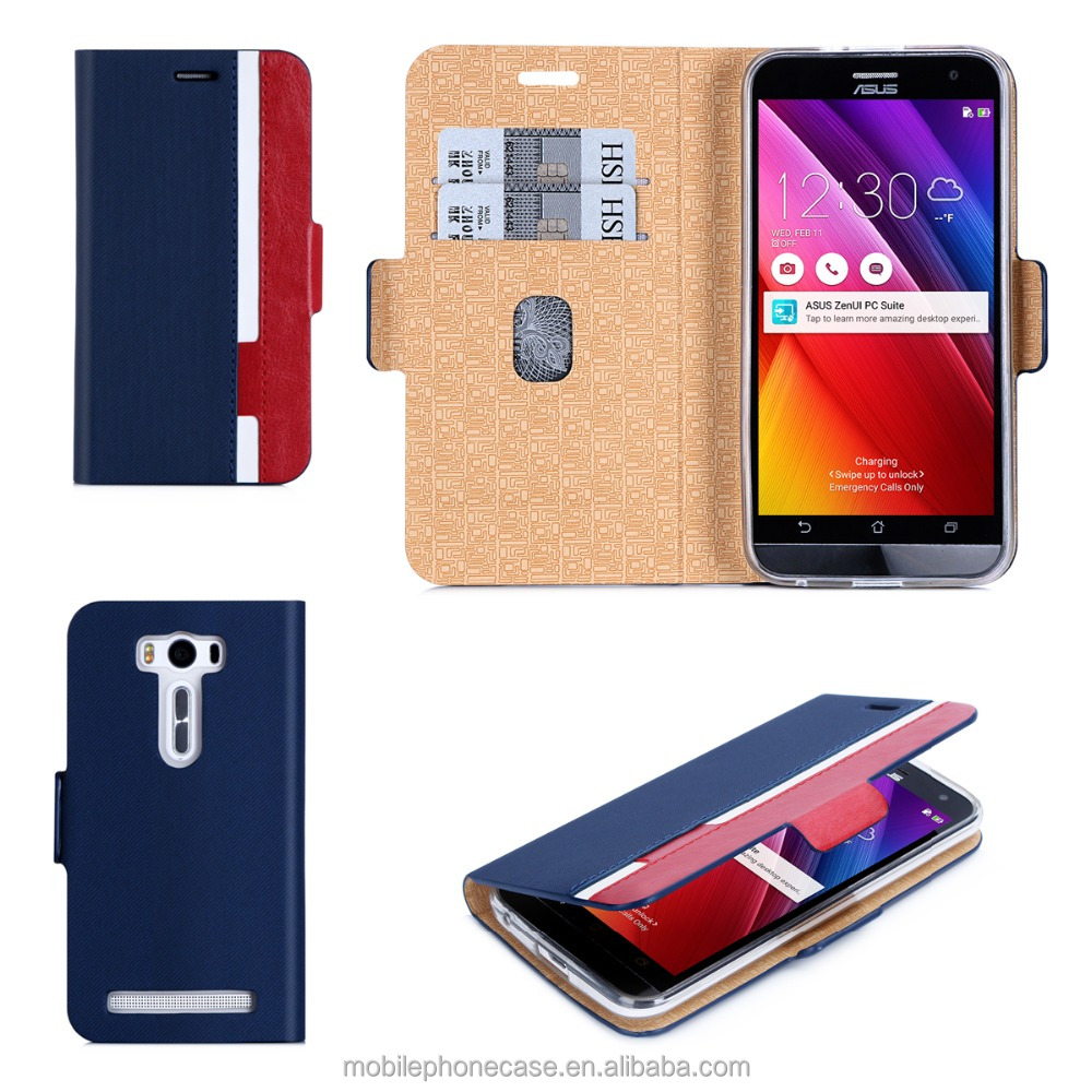 Best Price Good Quality PU Leather Mobile Phone Case For Asus Zenfone ZE500KL