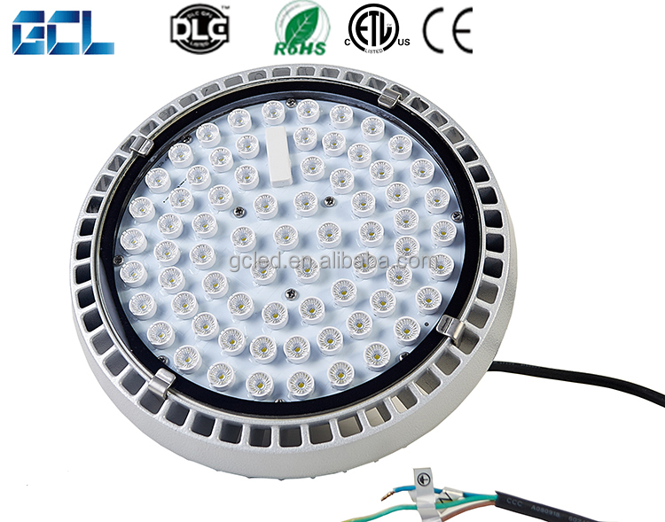 IP65 waterproof Hight lumen 80 100 120 150 180 200 watt ufo led high bay