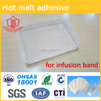 hot melt adhesive for Infusion band