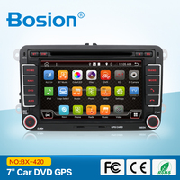 Quad Core 7 colors Android 4.4.2 VW Car DVD GPS Navi 1.2G CPU RAM GOLF 6 Polo JETTA MK4 MK5 MK6 PASSAT B6 Tiguan SKODA Fabia