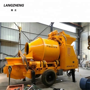 Hot Sale Diesel Type JBT30 Concrete Mixer Pump With CE