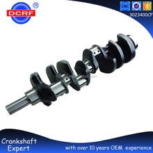 Forged Steel Car Engine Parts Crankshaft for Mitsubishi Pajero