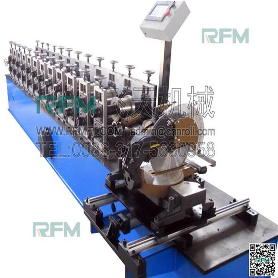 2017 new products aluminum Roller shutter guide rail marking machine For sale