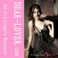 Black Pleated babydoll pictures of women in nighty