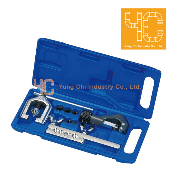 Auto repair professional hand tool set and flaring swaging kit