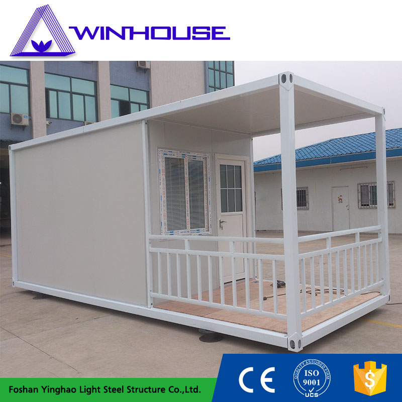 Beautiful Steel Prefabricated Mobile Container House With
