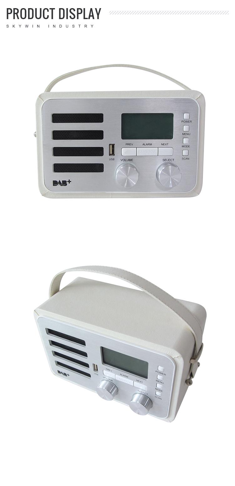 Bas prix AM / FM radio LCD calendrier, Température