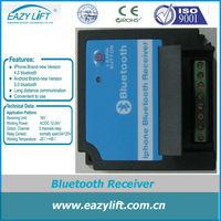 Access control bluetooth receiver module for garage door opener motor