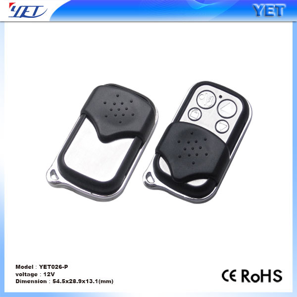 yet 026 copy code 433mhz remote control YET026