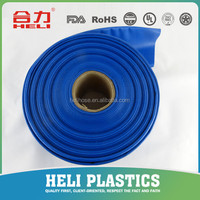 PVC lay flat tubing SGS CE pvc pipe color