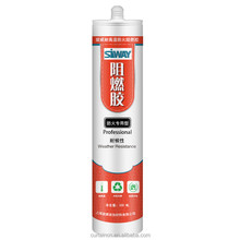 Fireproof Waterproof Anti-fungus Silicone Sealant for concrete joints