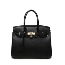 Classic designers leather women PU handbag bag