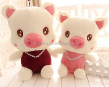 Adorable soft toy pig for children